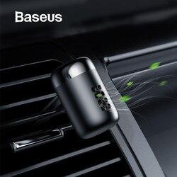 Baseus металлический автомобильный освежитель воздуха ароматерапия Твердый для автомобиля Вентиляционный Выход освежитель воздуха состояни...