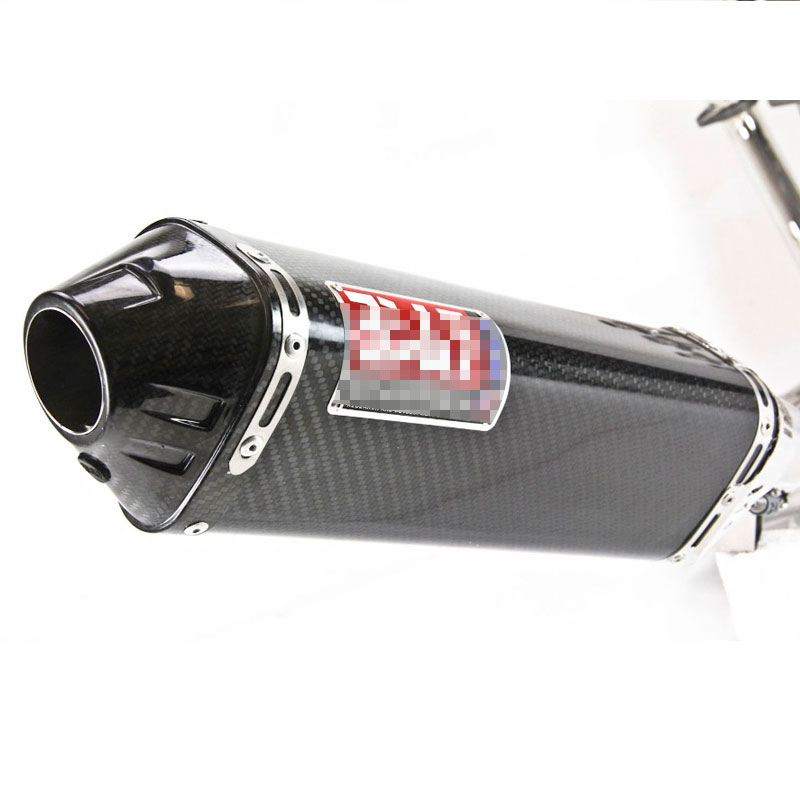 51mm Motorcycle Yoshimura Exhaust Muffler Pipe For Kawasaki Yamaha Honda KTM z800 z1000 ninja250 R6-in Exhaust & Exhaust Systems from Automobiles & Motorcycles    1
