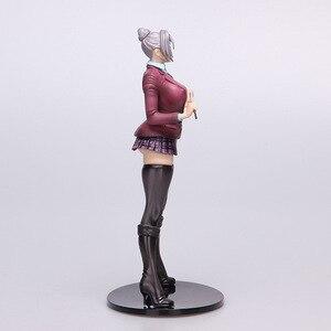Image 4 - Japonya Anime cezaevi okulu başkan yardımcısı Shiraki Meiko aksiyon figürü seksi öğretmen kız PVC 20cm koleksiyon model kız bebek