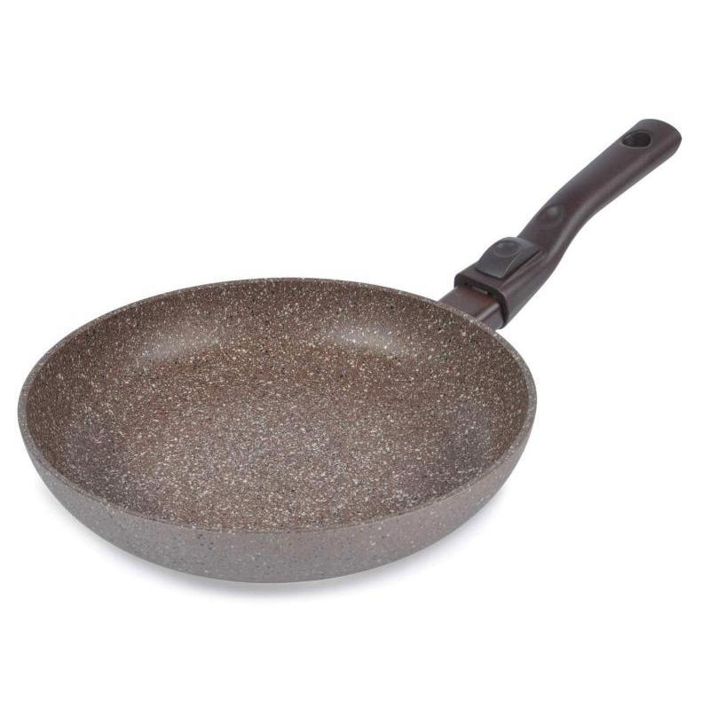 Frying Pan Tima, ART GRANIT Induction, 24 Cm, Detachable Handle