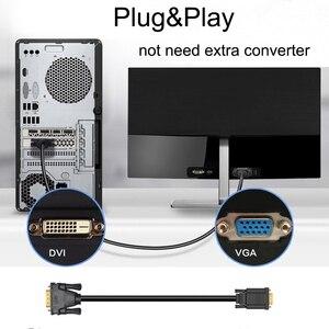 Image 5 - PCERสายDVI 24 + 5 To VGAสายเคเบิลอะแดปเตอร์DVIชายVGAชายConverterสายวิดีโอDVI VGAสายเคเบิลPC Monitor HDTVโปรเจคเตอร์
