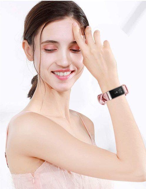 Pulseira elástica para xiaomi mi banda 4 3 substituível mi banda band4 corea pulseira respirável para xiomi miband 3