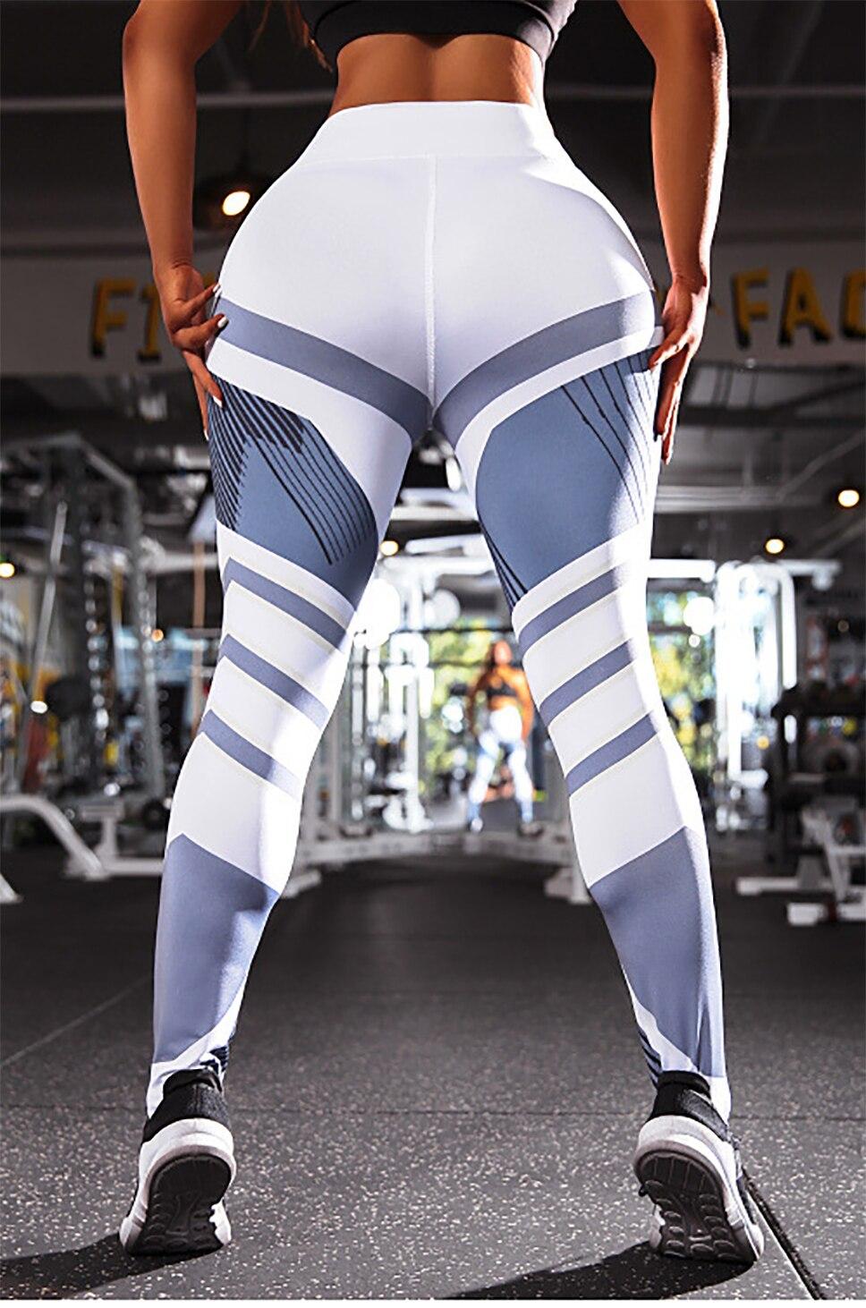 H2b6b6e4b30c74ad5951112fae750d5fcL BEFORW 2020 Fashion Polyester Digital Printing Leggings Plus Size Women Sexy Workout Black Leggings Camouflage Camo Pants