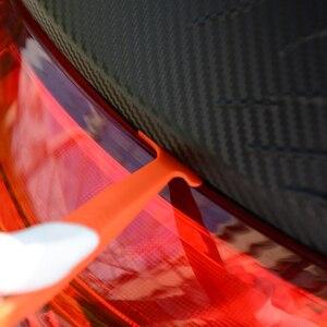 Image 3 - EHDIS 1/3pcs adesivo in fibra di carbonio magnete Stick tergipavimento pellicola in vinile avvolgimento raschietto Kit accessori auto pellicola per vetri tinta strumento