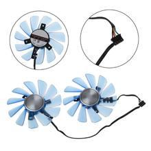 FDC10U12S9-C 85mm 12v 0.45a 4 fio 4pin vga ventilador substituir placa gráfica ventilador de refrigeração para seu rx 470 rx474 rx570