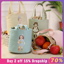 Kakuder Thermische Geïsoleerde Box Tote Cooler Bento Pouch Storage Case Geïsoleerde Thermische Voedsel Picknick Kids Cooler Lunchbox Tas Tote(China)