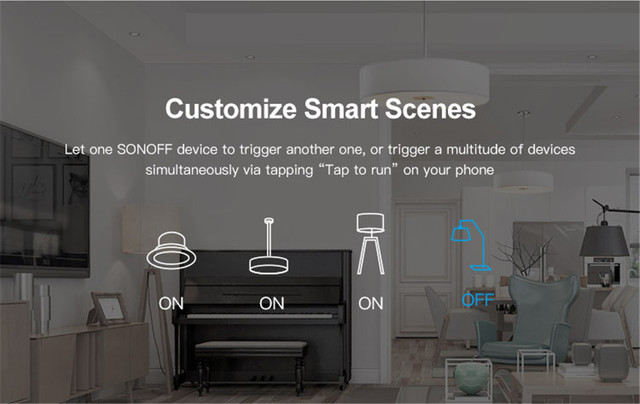 Itead Sonoff MINI DIY Smart Switch Small Body Remote Control Wifi Switch Support An External Switch Work With Alexa Google Home