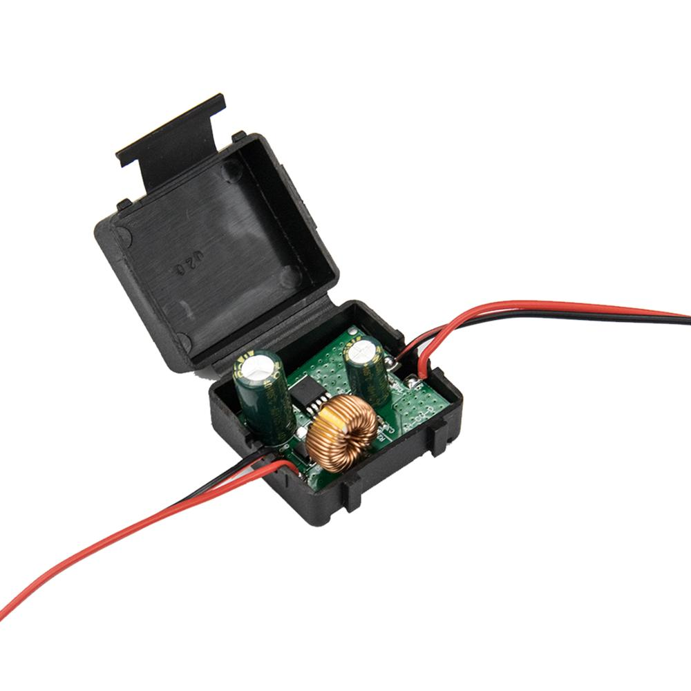12v Car Power Signal Filter Canbus Reverse Camera Power Rectifier Power Relay Capacitor Filter