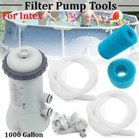 220V Swimming Pool Filter Pump Kit Home Pool Universal Filter Pump Cycling Purifier Water Cleansing Machine For Intex 530 Gallon