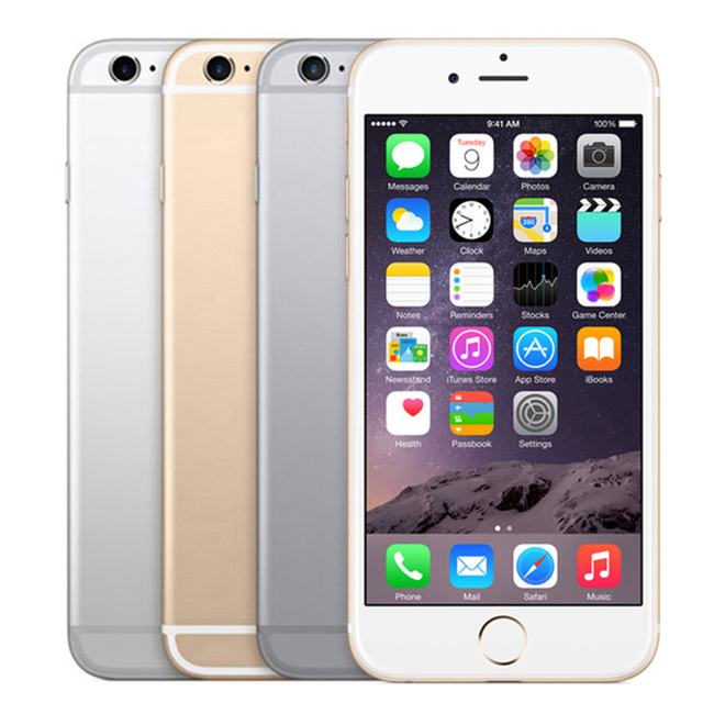 Unlocked Apple iPhone 6S 4G 4.7″ 2GB RAM 16&32&64&128GB ROM Bluetooth Dual Core Fingerprint LTE Used Mobile phone