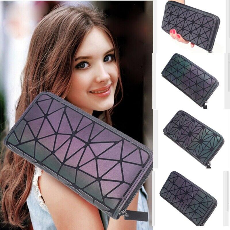 Women Ladies Clutch Leather Short Wallet Card Holder Bag Case Purse Handbag Card Holder Bag Zip Coin Purse 19x10cm