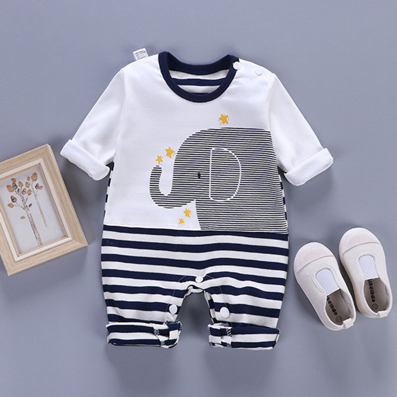 Romper Body Suit For Newborn Baby Infant Toddler Kids Cheap Jumpsuit One-pieces Onesie Long Sleeve Spring Autumn  0 3 6 9 Months