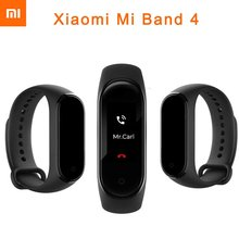 Original Xiaomi Mi Band 4 Smart Wristband Bluetooth 5.0 music Miband Bracelet Heart Rate AMOLED Color Touch Screen