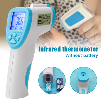 Handheld Forehead Infrared Thermometer Digital No-contact Thermometers Temperature Meter Hogard