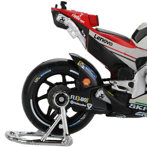 Image 4 - Maisto 1:18 motosiklet modeli oyuncak alaşım araba yarışı dağ motosiklet Desmosedici No.4 Motocross oyuncaklar çocuklar için koleksiyon