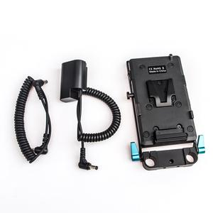 Image 1 - WY VG1 Power Supply System V Mount Battery Plate Adapter with DMW DCC12 Cable for Broadcast SLR HD camera