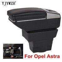 Para opel astra armrest box  astra j  carregamento usb  duas camadas  central de armazenamento  conteúdo e cinzeiro  acessórios