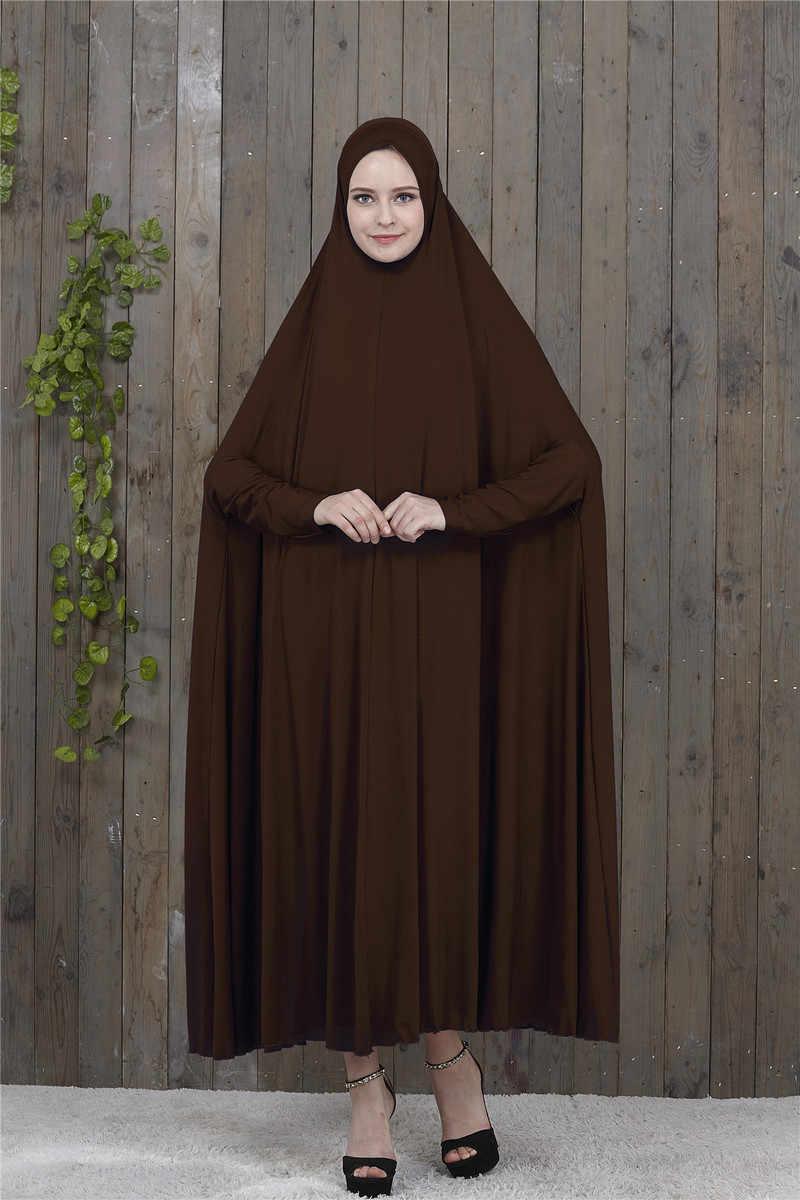 ملابس مصلاة للمسلمين ثوب عيد مبارك حجاب فستان نسائي شيك بقلنسوة الشرق الأوسط دبي تركيا الإمارات Jurken عباية إسلامية كيمونو