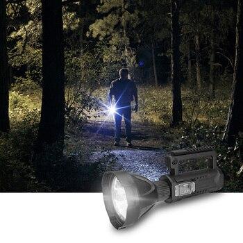 Lantern Flashlight Waterproof Spot Lamp Handheld High-Power P50 Flashlight Camping Hiking Outdoor Electric Torch Lamp