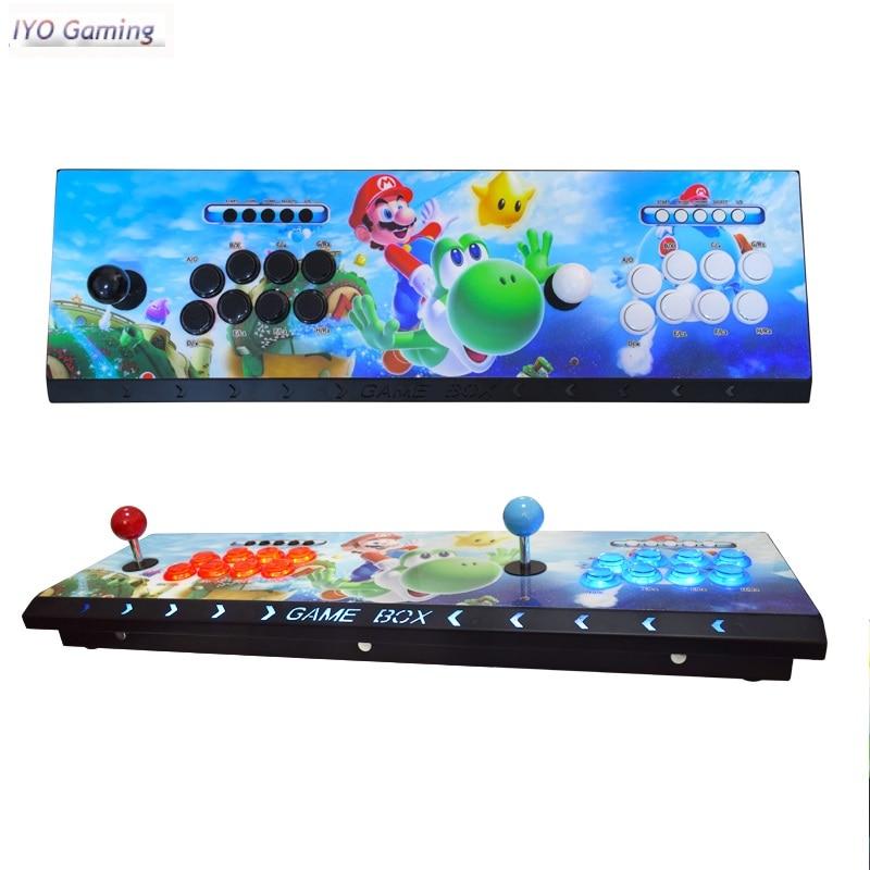 IYO Pandora Box 9D 3001 Games Arcade Console Zero Delay Joystick 8 Buttons PCB Board HDMI VGA Output Retro Video Arcade Machine