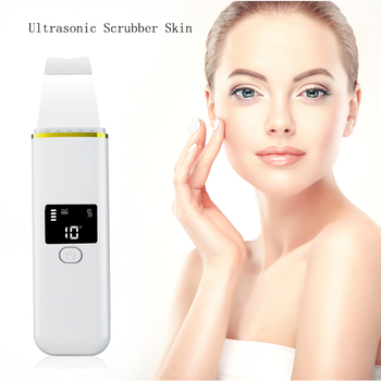 цена на Ultrasonic Face Cleaning Skin Scrubber Facial Peeling Deep Cleansing  Pore Blackhead Removal Pore Cleaner Skin Care Tools Tools