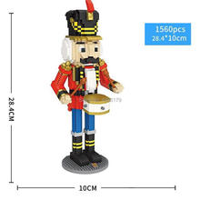 hot LegoINGlys creators Classical movie image nutcracker figures mini micro diamond building blocks model nano bricks toys gifts стоимость