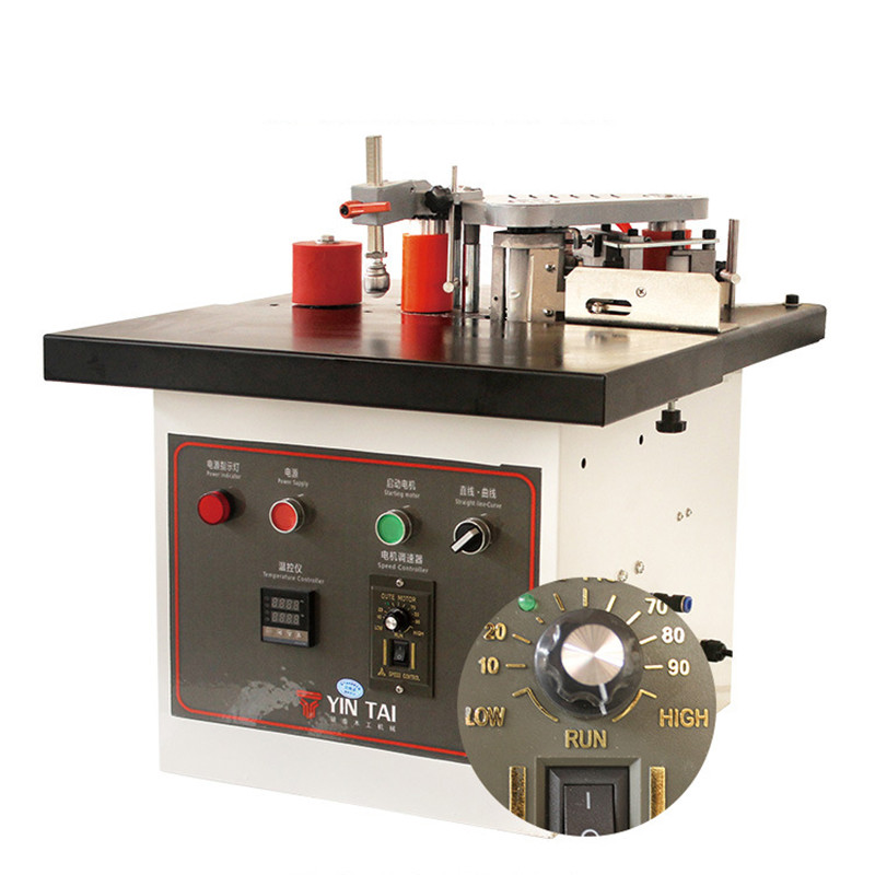 Small Edge Banding Machine Woodworking Tools Portable Banding Machine Double Sided Glue Operating FIexible Family DIY Machining