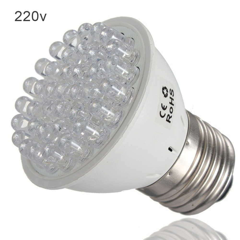 E27 38LED Energy Saving Potted Flower Greenhouse Agriculture Easy Install Plastic Indoor Plant Growth Lamp