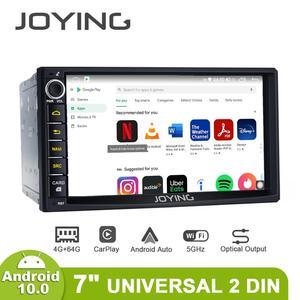 Image 2 - 2 din Car Radio player 7 inch universal head unit autoradio 4GB RAM+64GB Octa Core ROM support 4G/Carplay/Android auto/Fast Boot