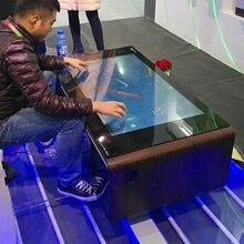 Mesa de madera táctil interactiva para quiosco, para lg lcd OPS, Android, Wifi, 32, 42, 47 y 55 pulgadas