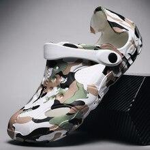 2020 Summer Beach men Shoes Crocks Clogs men Flat Sandals Crocse Shoe Croc Slipp