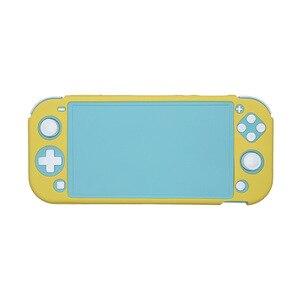 Image 2 - Mini przełącznik NS Lite ochrona TPU Shell dla Nintendos przełącznik konsoli Shell Case Anti scratch pyłoszczelna przezroczysta folia kryształowa