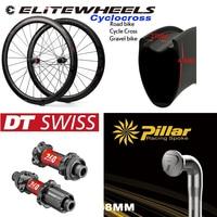 Elite Dt Swiss 240 Road Schijfrem Carbon Wiel 30 35 38 45 47 50 55 60 88Mm Clincher buisvormige Tubeless Velg Voor Grind Cyclocross