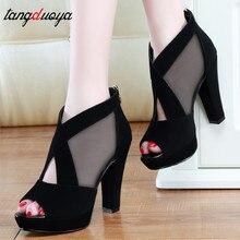 High Heels sandals women platform sandals Thick With