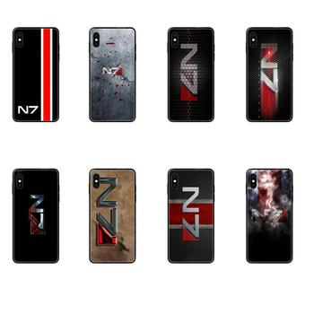 For Redmi Note 4 5 5A 6 7 8 8T 9 9S Pro Max Soft Phone Cover Case Greatest Mass Effect N7 Armour image