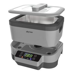 Image 5 - Limpiador ultrasónico Digital para joyería y relojes, con cestas, limpiador Dental de 1,2 L, 70W, 40kHz, 220V/110V, ultrasónico para Baño