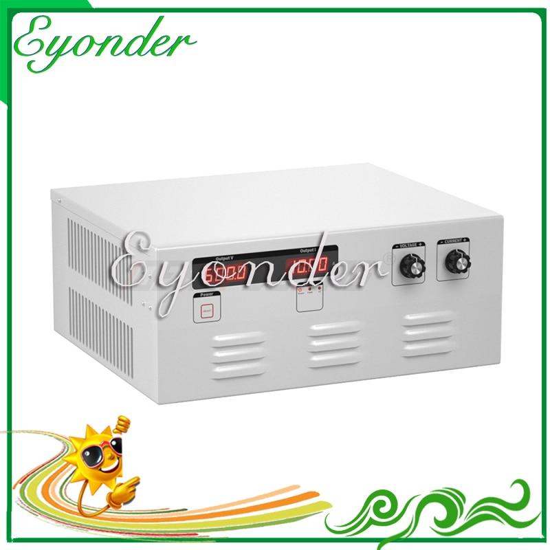 Good quality 110v 220v 230v 380v 500v ac to converter adjustable dc power supply 80v 100a 8000w Variable voltage regulator
