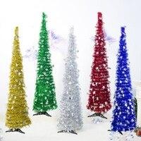 Пайетки для поделок новогодняя елка со звездой украшения праздничные украшения поставки елки