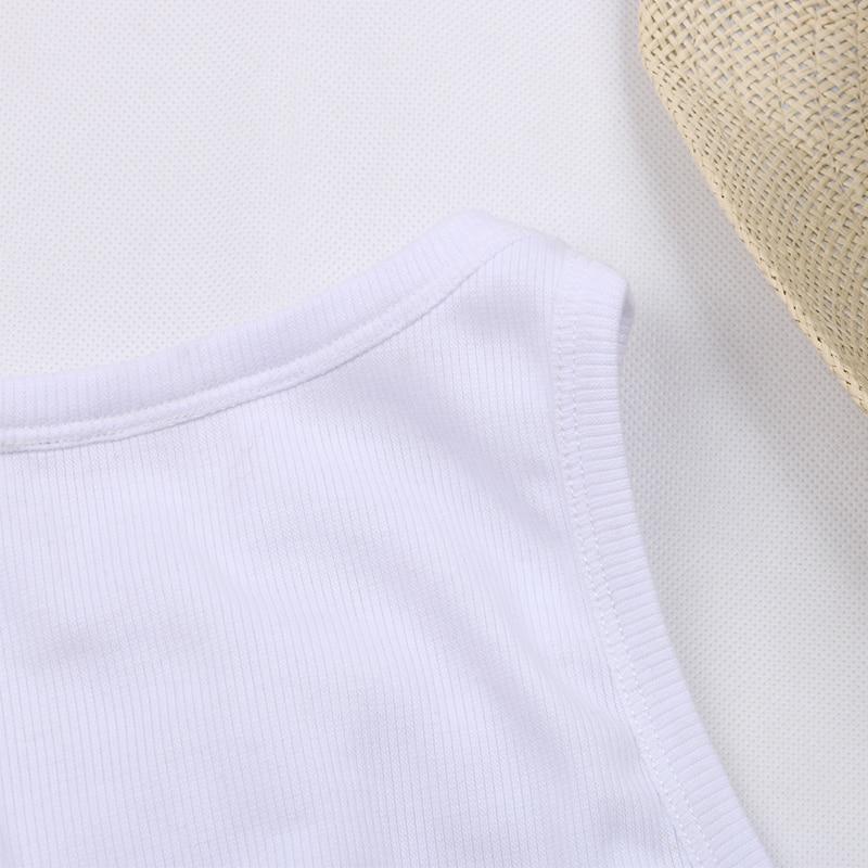 Shoulder Knitted Tank Tops