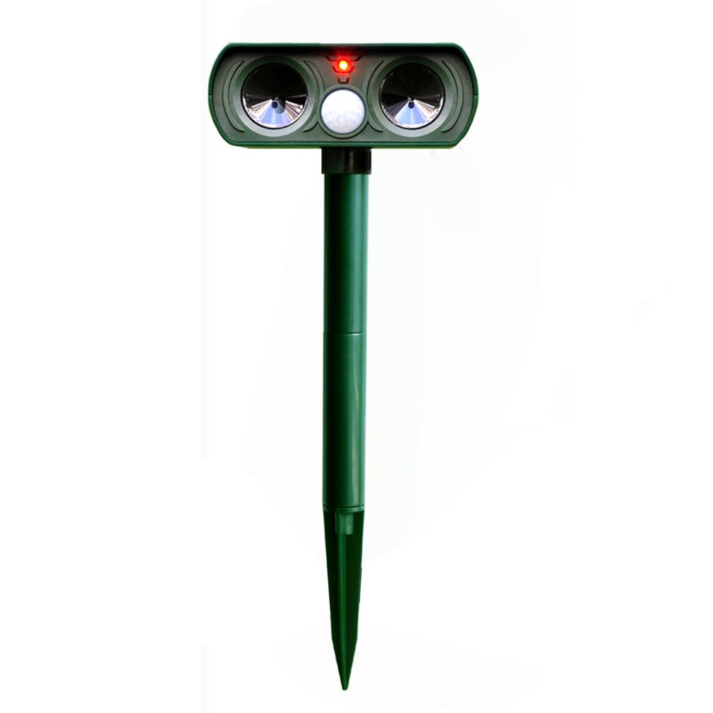 Solar Charging Drive Cat Drive Dog Infrared Drive Cat Drive Dog Multi-Functional Insect Repeller Ultrasonic Animal Repeller