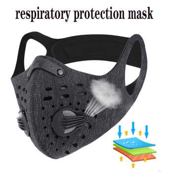 1-10PCS Face masks screensaver masks breathable Reusable Anti Pollution mesh rina activated carbon filter mask facial masks flu
