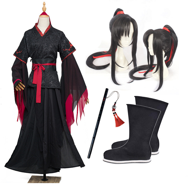The Untamed Mo Xuanyu Cosplay Costume Chinese Anime Magic Ancestors COS Clothing Costumes Wei Wuxian Yiling Ancestors Full Cloth