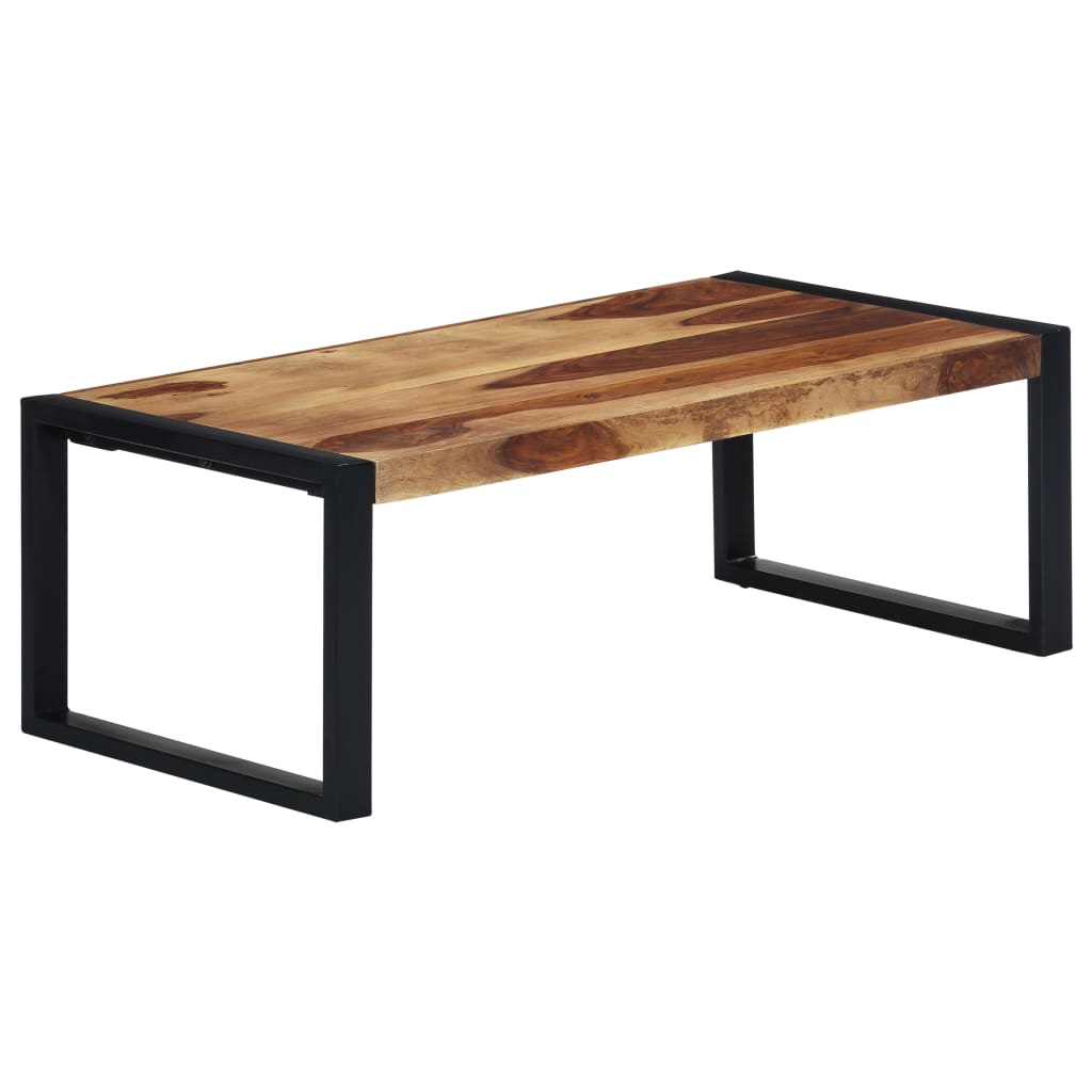 VidaXL Coffee Table 110x60x40 Cm Solid Sheesham Wood