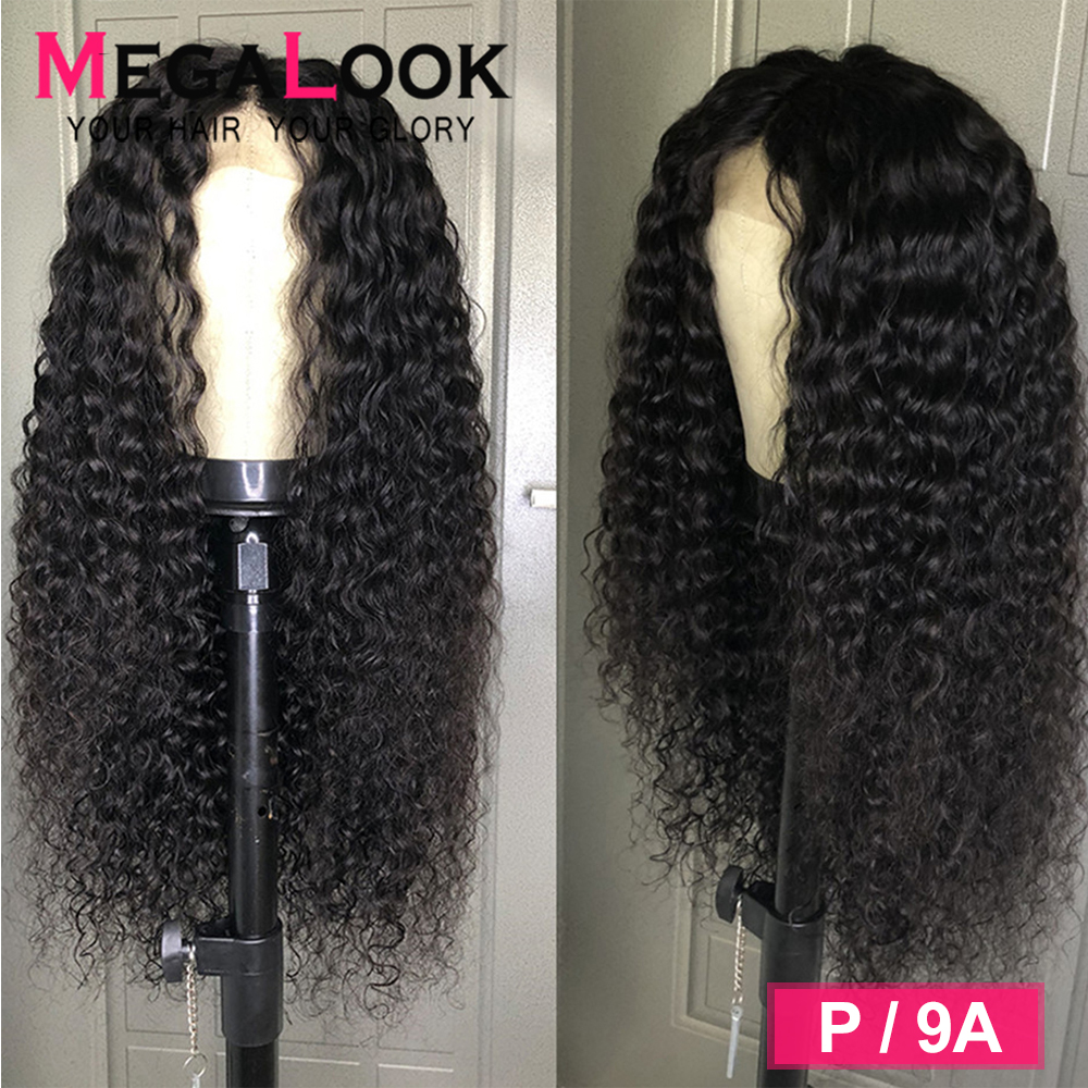 13x6 Lace Front Wig Curly Lace Front Wig 180 Density Glueless Preplucked 30 Inch Wigs For Women Human Hair 13*6 Lace Frontal Wig
