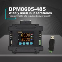 DPM8605 485 Programmable Digital Control Communication Regulated DC Constant Voltage Power Supply 60V 5A DC DC Step down