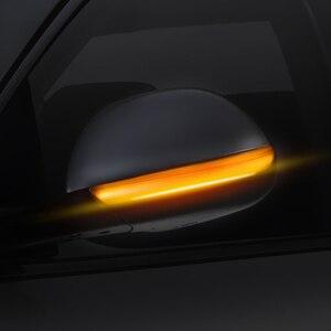 Image 3 - 12V 깜박이는 LED 자동차 방향 지시등 리어 뷰 미러 램프 깜빡이 포드 포커스 Mk2 Mk3 Mondeo Mk4 용 동적 자동차 액세서리