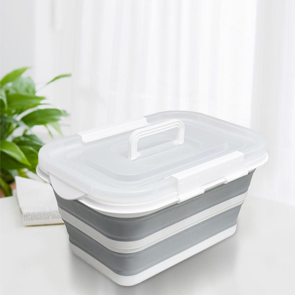 Складной ящик Органайзер для игрушек коробка контейнер для одежды органайзер корзина домашняя настольная корзина для хранения сумки с кры