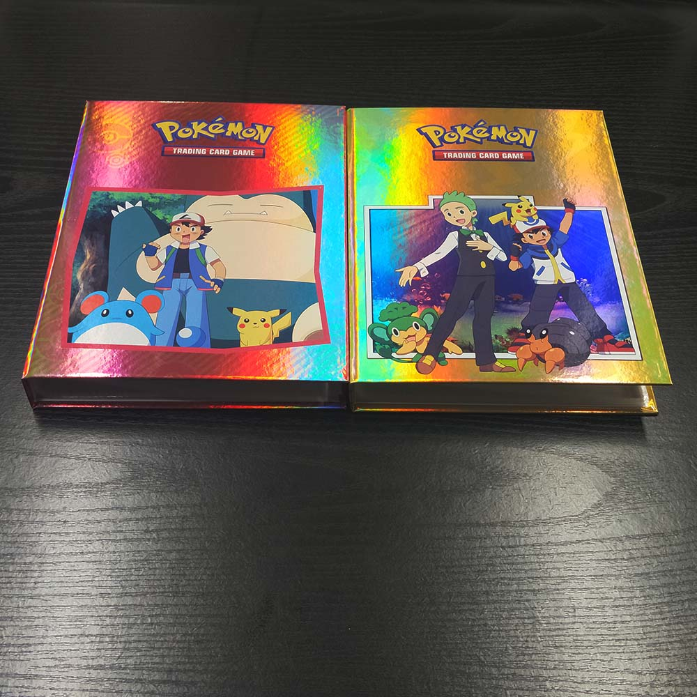 160pcs Pokemon Card Album Holder Collections Book Ranking Toy Gift Kids Classic Collection