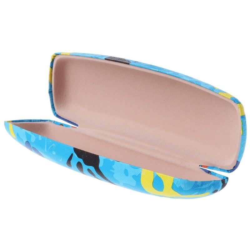Модные очки коробка Пальмовая живопись солнцезащитные очки для чтения чехол для хранения очков