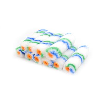 10 sztuk partia 4 #8222 wałek malarski Mini wałek malarski Edger Trim Roller narzędzia ręczne zestaw hurtowy tanie i dobre opinie Other Paint Rollers Farby i dekorowanie CN (pochodzenie)